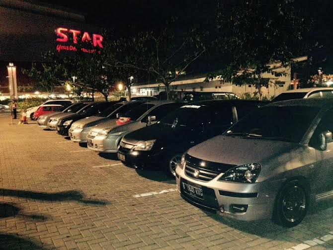 Mobil anggota AOCI