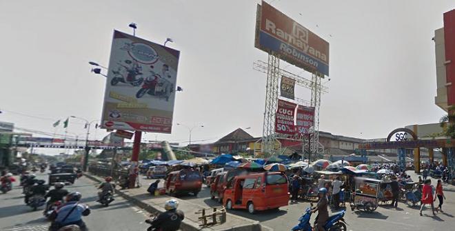 Pasar Ramayana Cikarang sebelum kebakaran/GooglePhoto