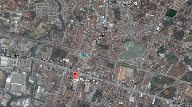 Peta Jalan Mekar Sari, Tambun Selatan/GoogleEart